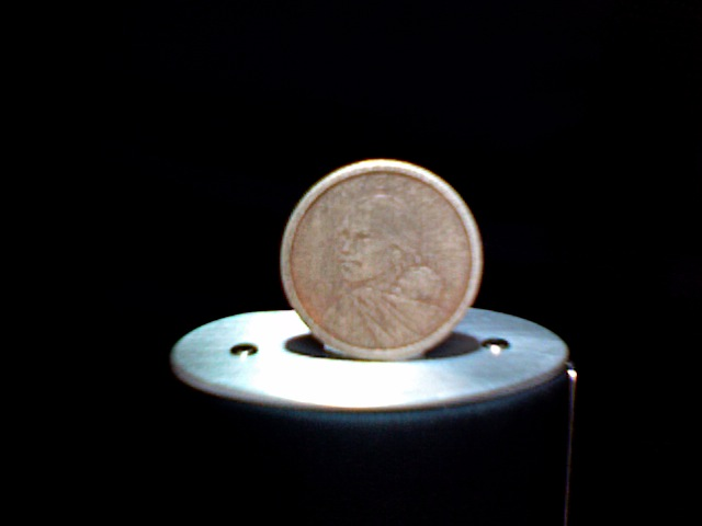 Picture of Make Your Own: Pure Copper Golden Dollar!