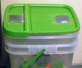 Make an Apartment-sized indoor Compost Bin