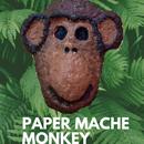 DIY Paper Mache Monkey