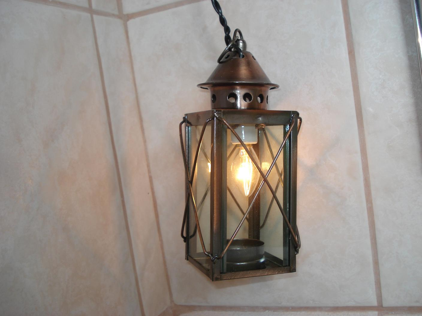 Picture of How to Make an Outdoor Electric Candle Light