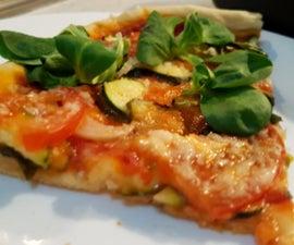 Homemade Pizza Dough (vegan)