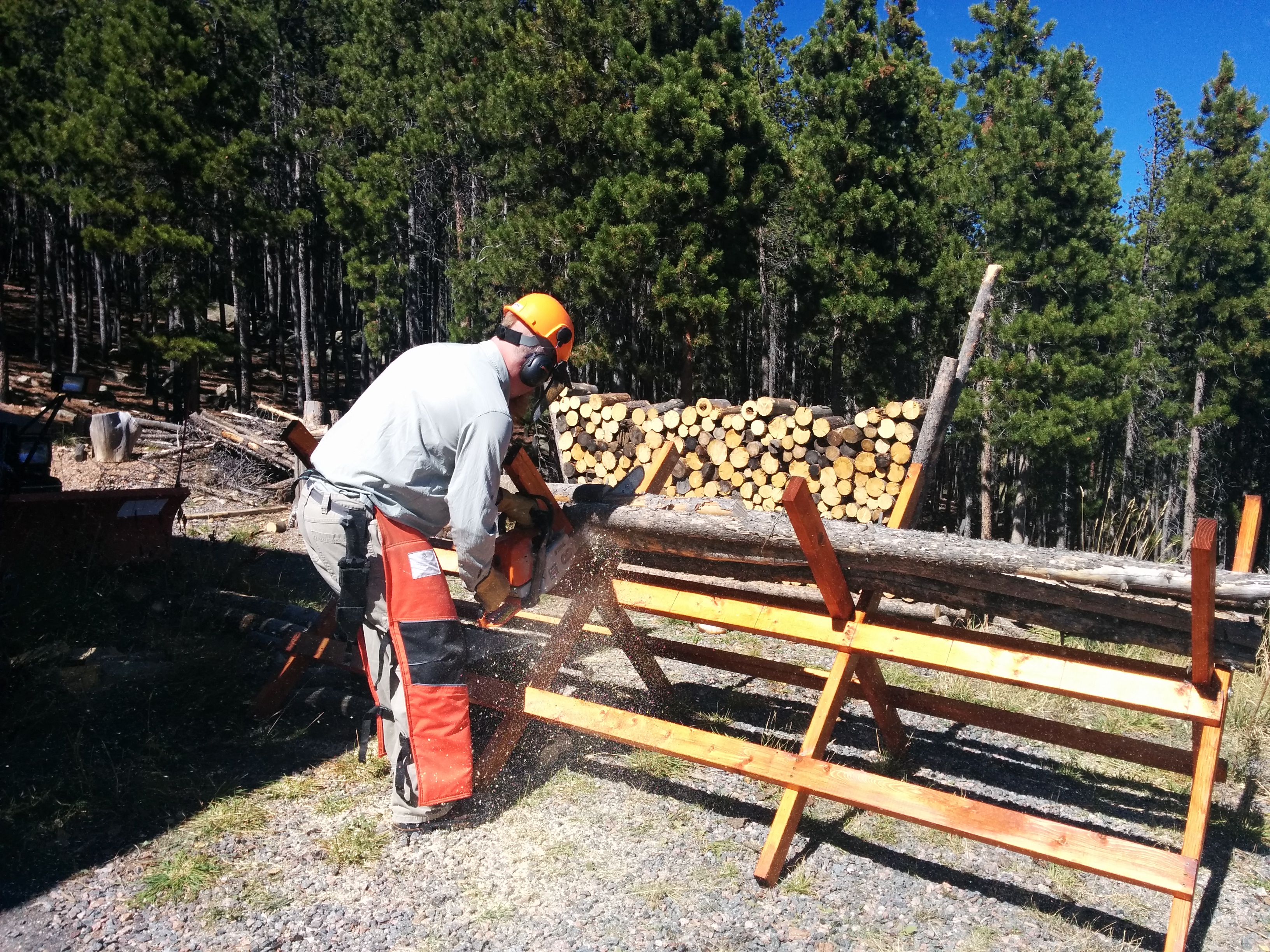 Picture of Tree-length Saw Horse