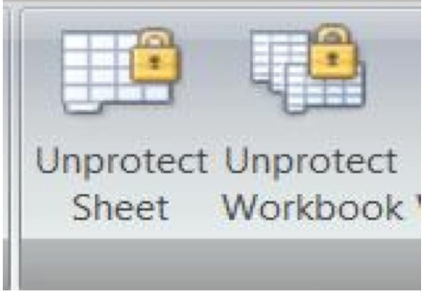 how to unlock excel files without password