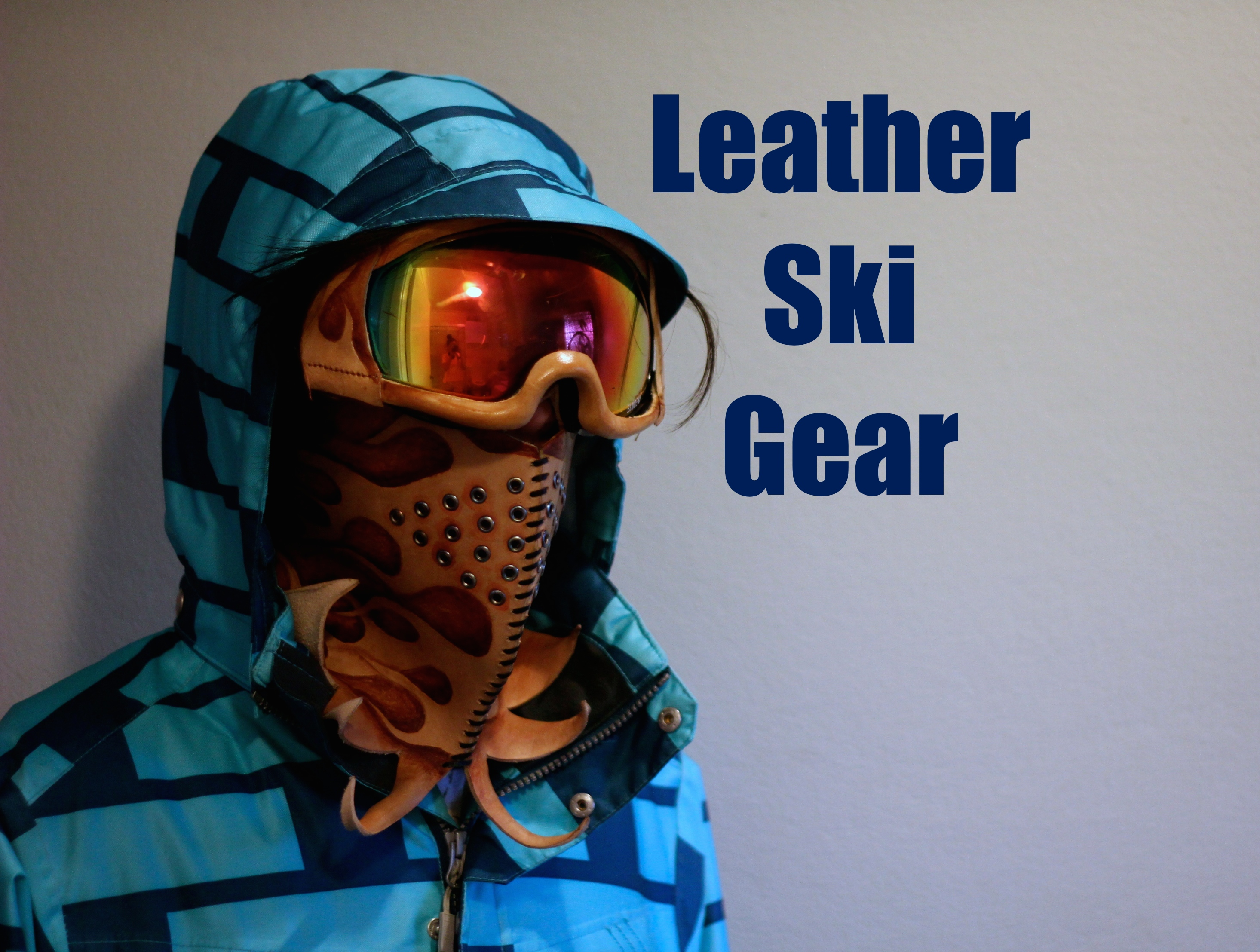 Picture of Leather Ski Gear