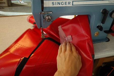 Upper Side Pouches: Sewing Up and Over