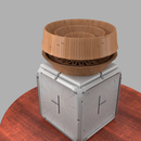 Passive Omni-Directional Acoustically Amplifying Speaker