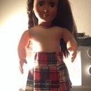 American Girl Doll Kilt