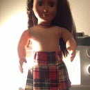 American Girl Doll Kilt