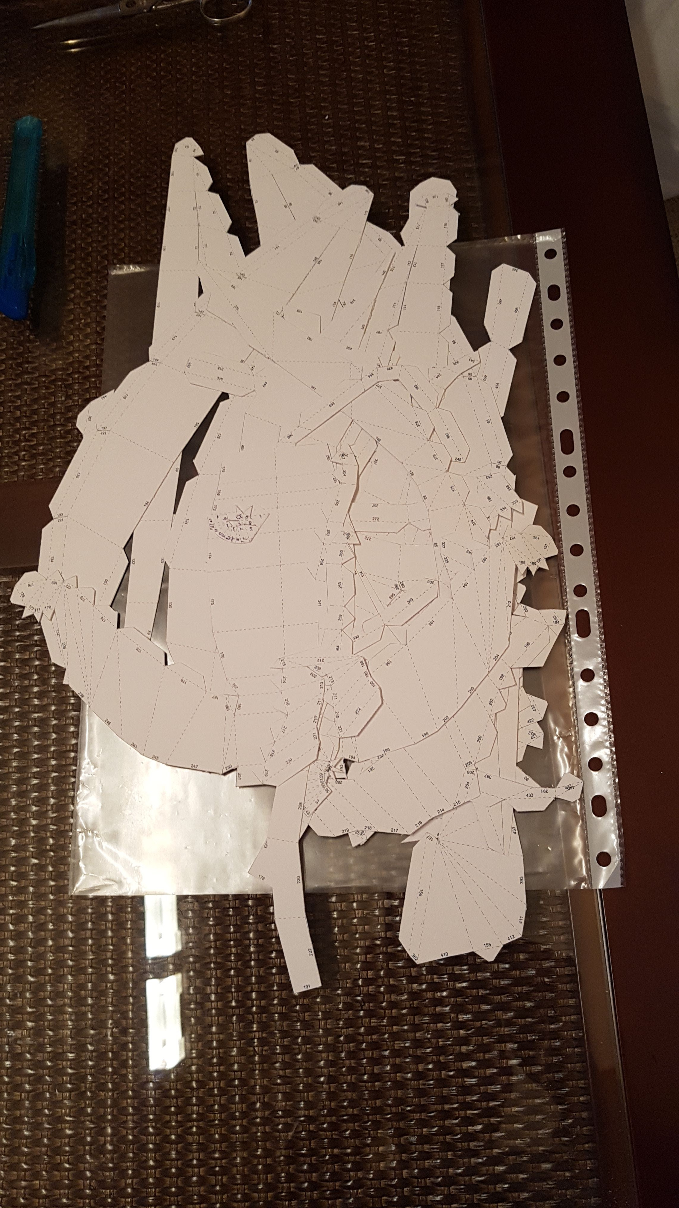 Picture of Assembling Pepakura Mold