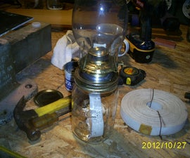 Mason Jar Emergency lantern