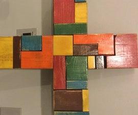 Random colored Cross