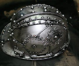 Gena Rumple's How-To Make An Affordable Steampunk Helmet