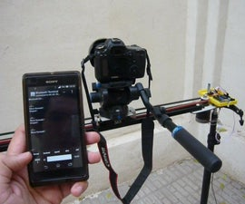 Motorized Camera Slider Controled by Android Phone