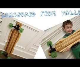 Build a Long Board From Reclaimed Pallets