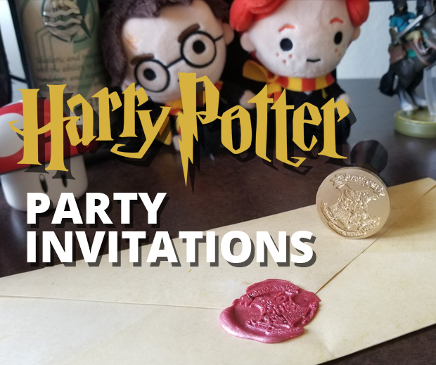 Picture of Harry Potter Party Invitations