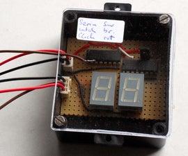 Make a debug display for microcontrollers