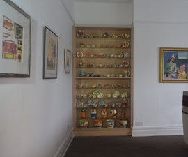 Making a DIY Built-In Display Cabinet W/ Sliding Doors