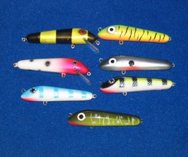 Creating a Plastic Lure or Jerkbait