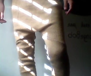 Low Crotch Swants (Easy Swants)