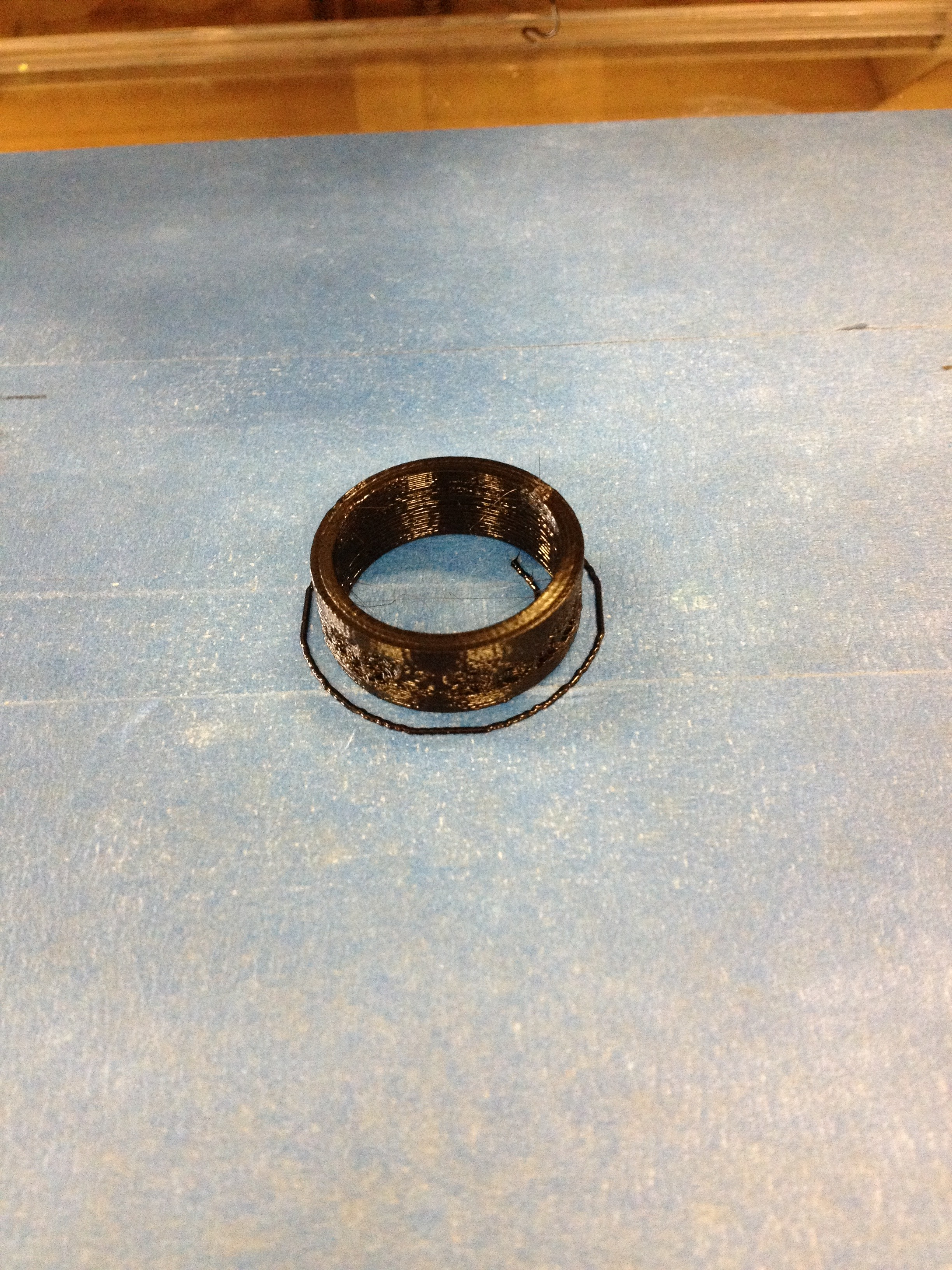 Picture of Final Print of Ring With Fancy Text - a Bit Hard to Read at This Size