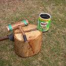 axe kindling splitter shield