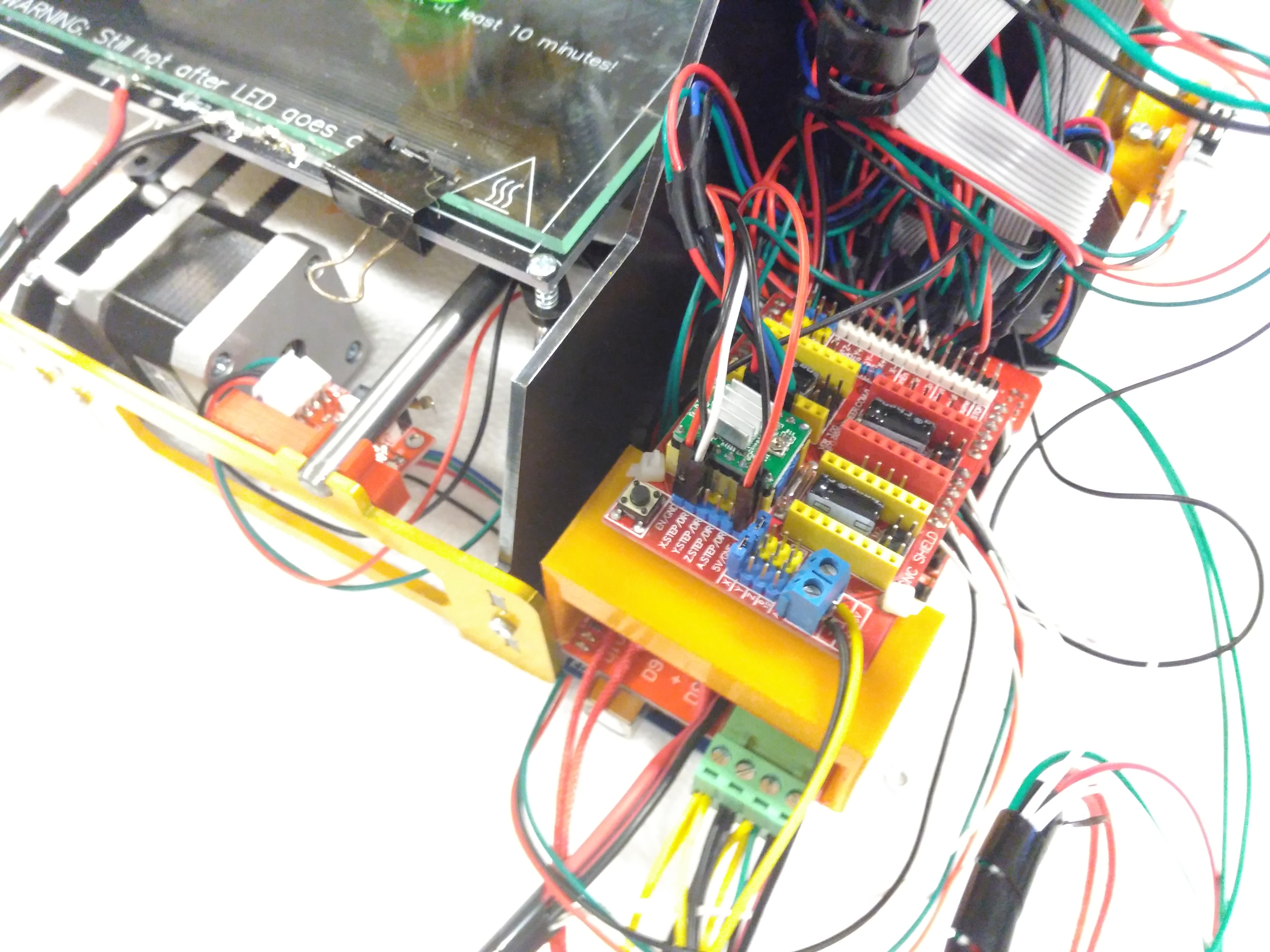 Picture of Wiring the Eletronics