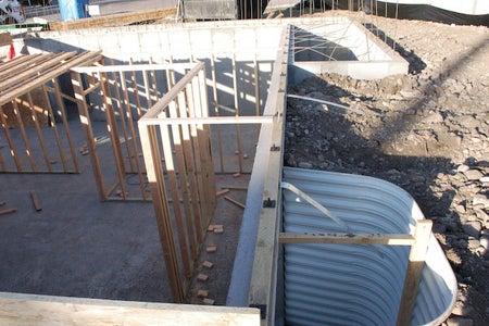 Build Basement Bearing Walls - Where Necessary