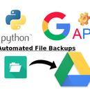 Automated Google Drive File Backup [Python - Google API - Service Account - Linux]