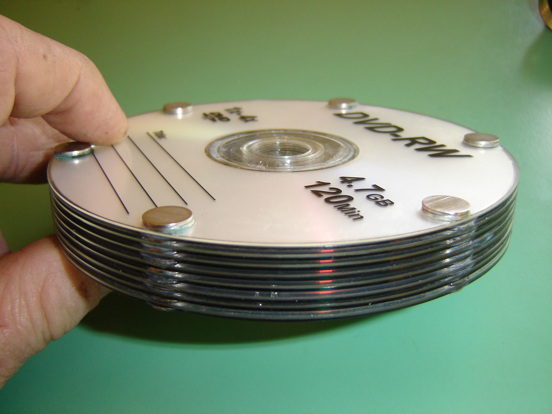 Picture of Build an Amazing Tesla CD Turbine