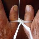 Zip Tie Thumb Cuffs