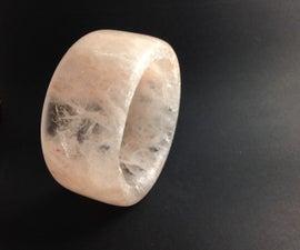 Making A Rock Salt Bracelet