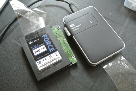Unlimited SD Card Backup in the Field - Hard Drive Hack