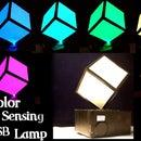 USB Chameleon Lamp ( Color replicating )