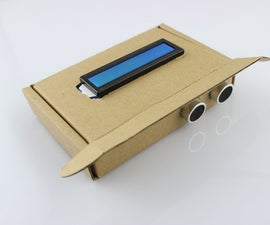 A Mysterious Box- Ultrasonic Range Finder(Arduino)