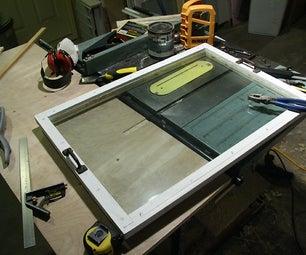 Make a Maintainable DIY Double-glazed Window