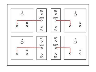 Arduino NodeMCU ESP8266 Based WIFI Smart Strip 4 Relay