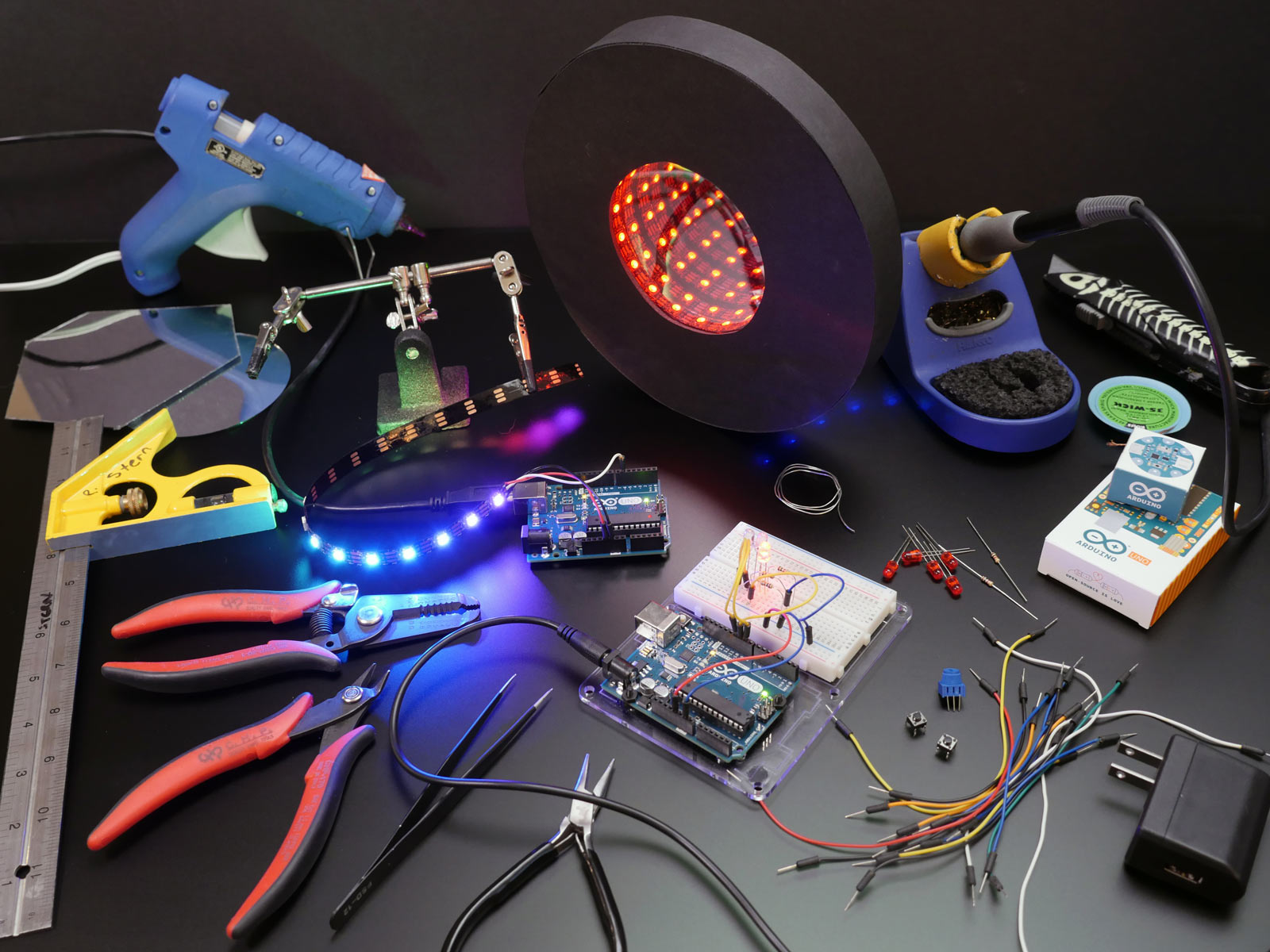 Picture of Tools and Materials for Arduino