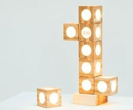 Easy Modular Magnetic Desk Lamp