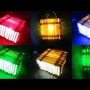 How to Make 12V Multi Color Led Wooden Lamp Easy Way