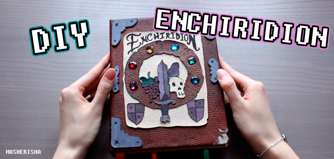 Picture of Enchiridion DIY Adventure Time Notebook