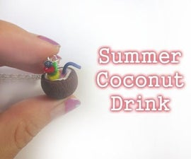 Miniature Coconut Drink