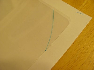 Insert Clear Plastic Sheet Into Globe