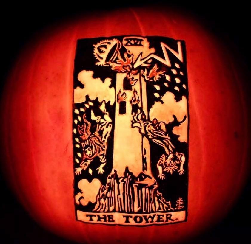 Picture of Carve a Tarot Card Pumpkin!