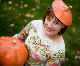 Papier Mache Pumpkins