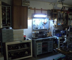 Free Luminaire From a Scrapped Dishwasher, Cordless Tools, and a Television