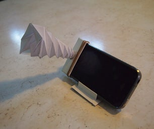 The Whirlwind - an IPhone Horn Speaker and Stand That Fits in You Wallet!