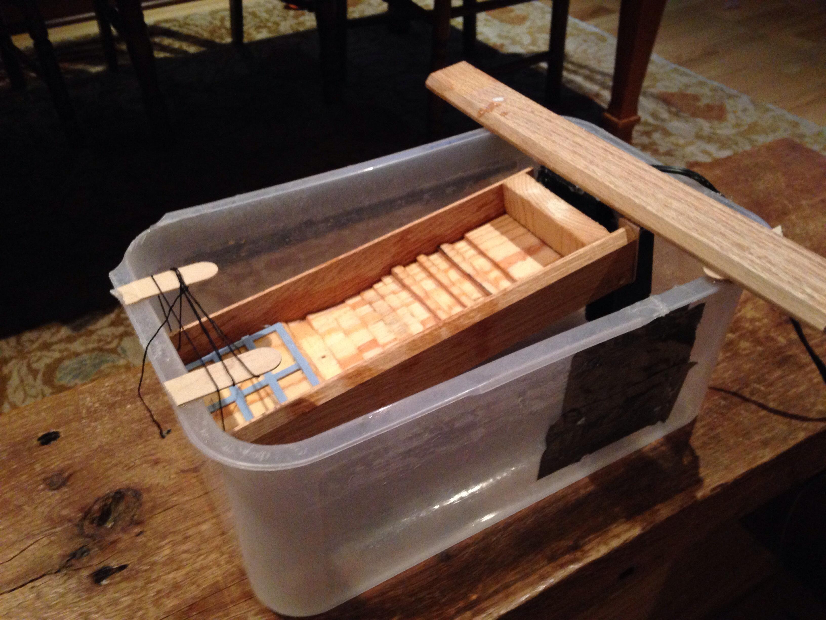 Picture of Homemade Recirculating Sluice Box