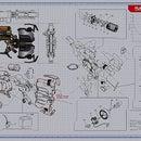 Knex Dead Space 2 Plasma Cutter