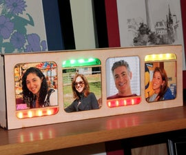 IoT Location Sensing Picture Frame