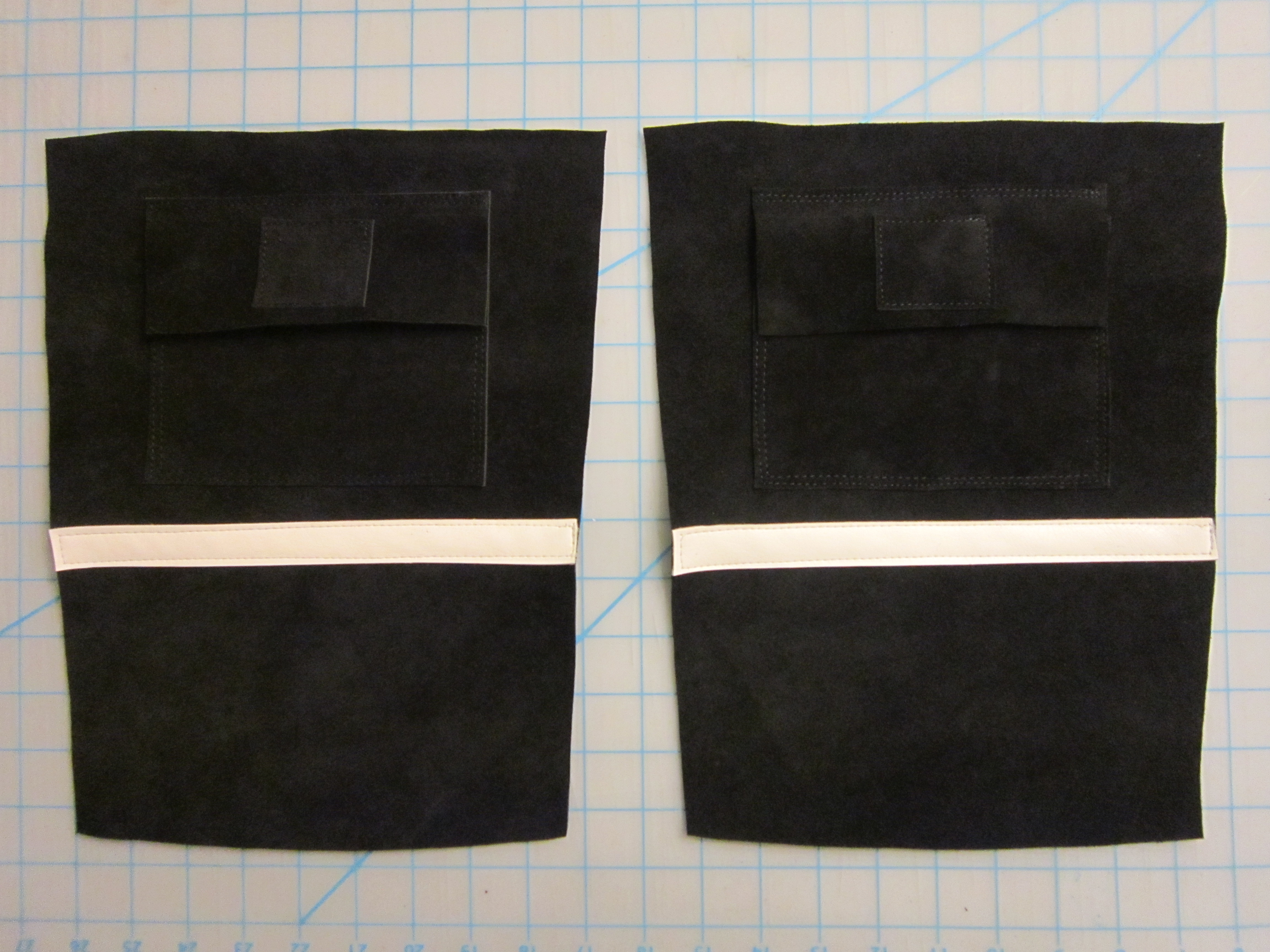 Picture of Sewing the Boot Backs W/ Pockets